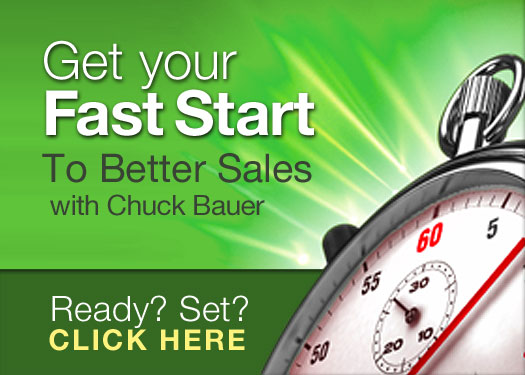 Get A Fast Start To Better Sales Today!