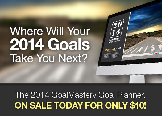 The 2014 GoalMastery Annual Goal Planner: Your guide to identifying and completing your goals.