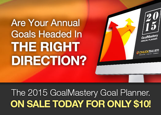 The 2015 GoalMastery Annual Goal Planner: Your guide to identifying and completing your goals.