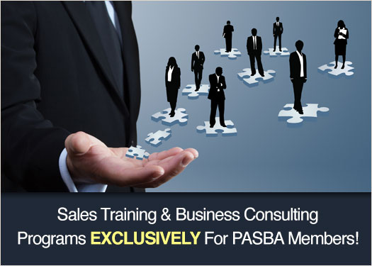PASBA: Sales Training & Business Consulting Programs Exclusively For PASBA Members!