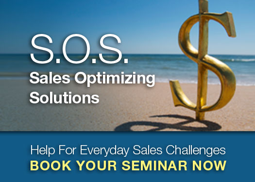 Help For Your Everyday Sales Challenges. Get Better Sales Training With Sales Optimizing Solutions From Chuck Bauer.
