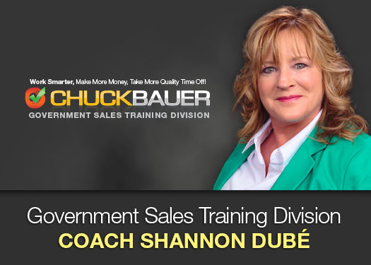 Government Sales Trainer, Consultant, and Coach Shannon Dubé